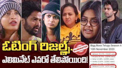 Bigg Boss Telugu 4 Voting Online 10th Week