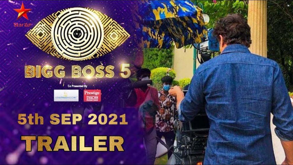 BB5 Telugu contestants promo